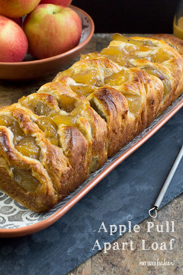 Pull Apart Apple Bread